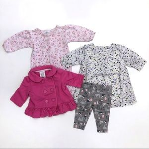 Bundle 0-3m Baby Girls Clothes Laura Ashley Outfit